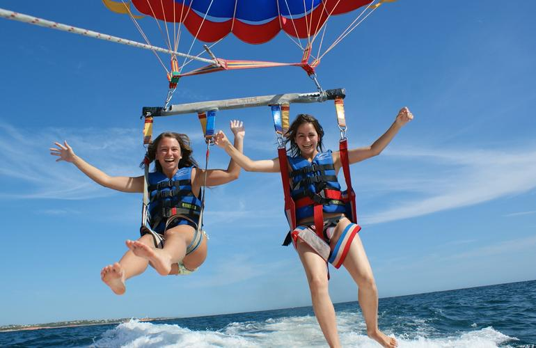 parachute ascensionnel algarve