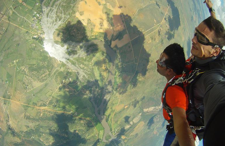 saut en parachute johannesburg