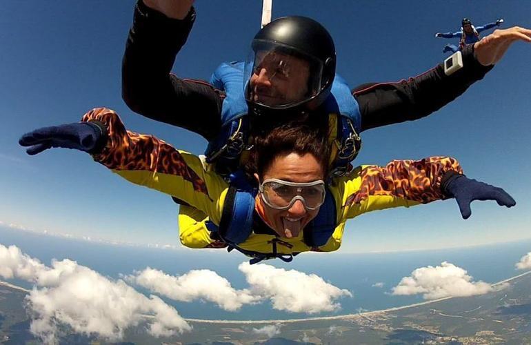 saut en parachute landes 40