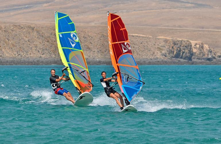 Kitesurf et windsurf à Fuerteventura