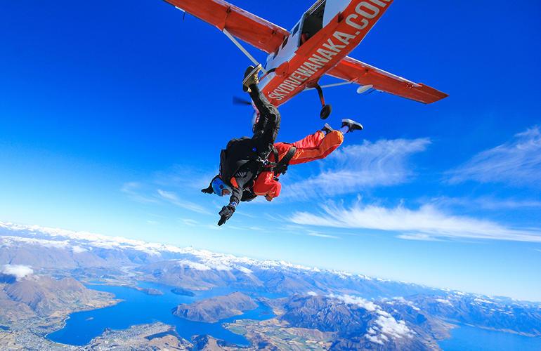 Tandem Skydive Over Wanaka