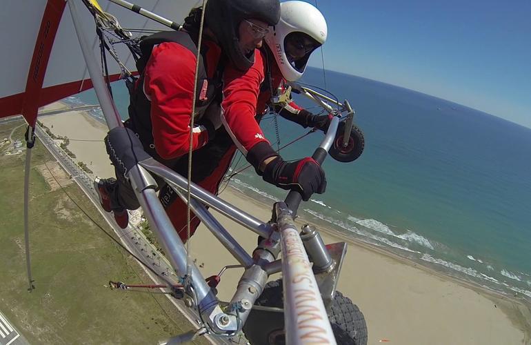 Tandem Hang Gliding Flight in Castellon near Valencia