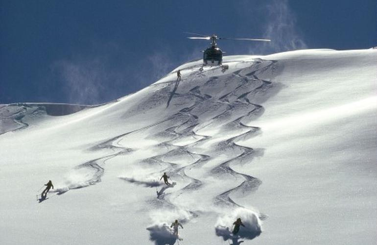 Heliski in Courmayeur