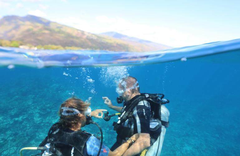 Discover Scuba Diving In Tahiti