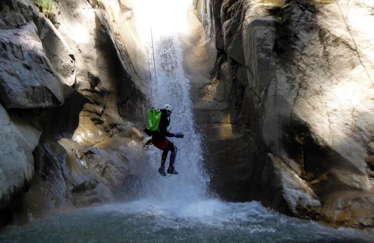 Canyon De La Belle Au Bois à Megève