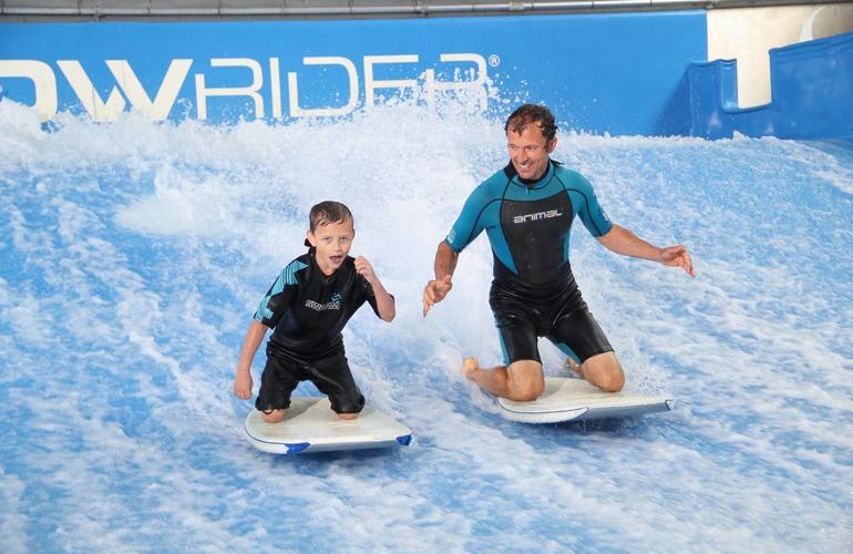 Indoor Surfing Lesson In Bedford