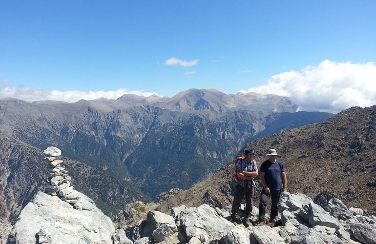 randonnée trekking crète
