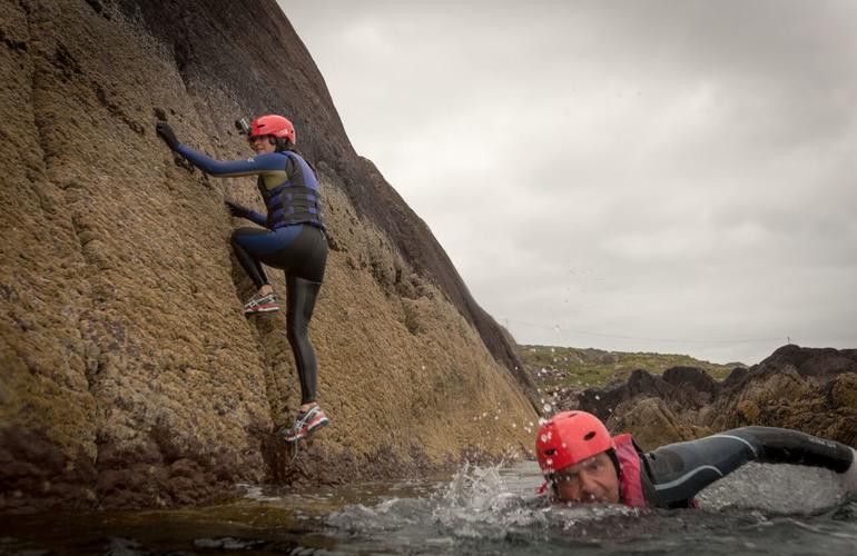 coasteering Ireland