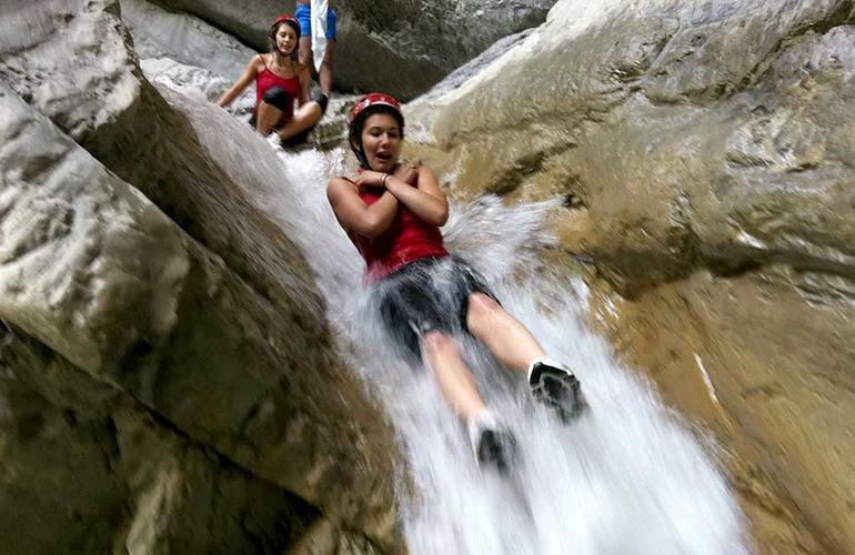 Canyoning at Laino Borgo