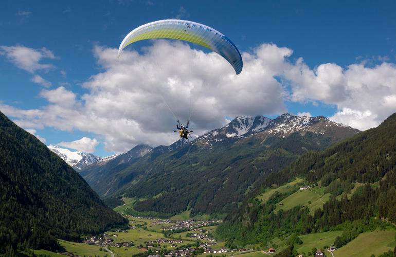 parapente adrenaline hunter