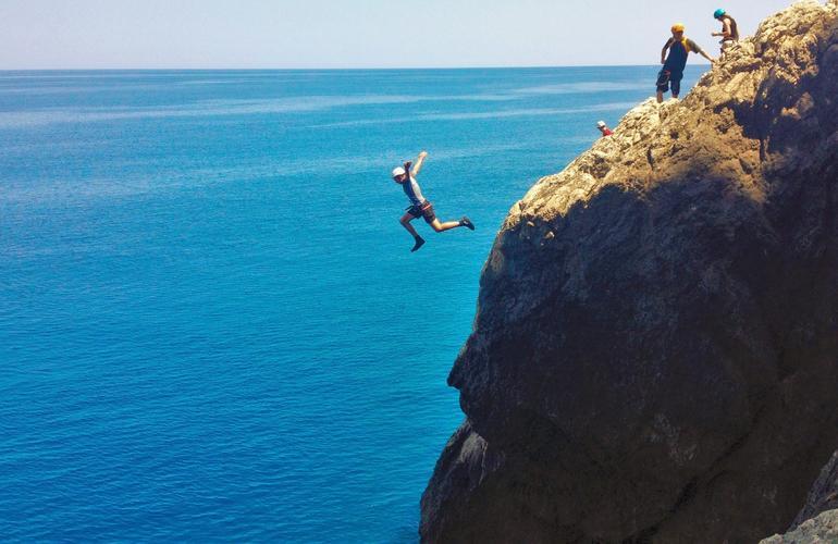 coasteering majorque