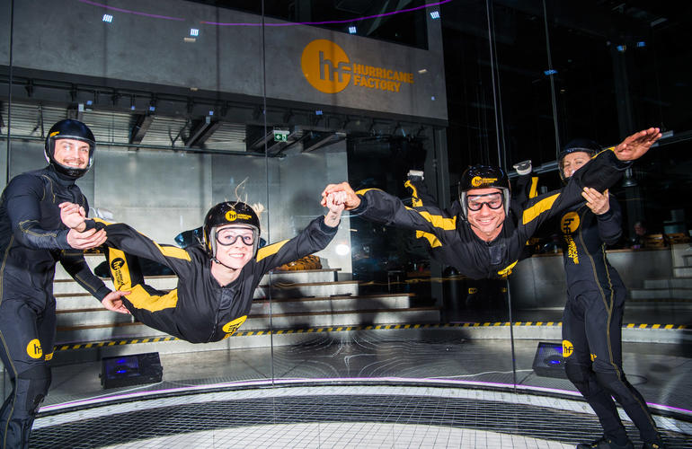 Indoor Skydiving In Berlin