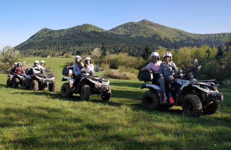 Quad biking in the Gacka Valley near Otočac