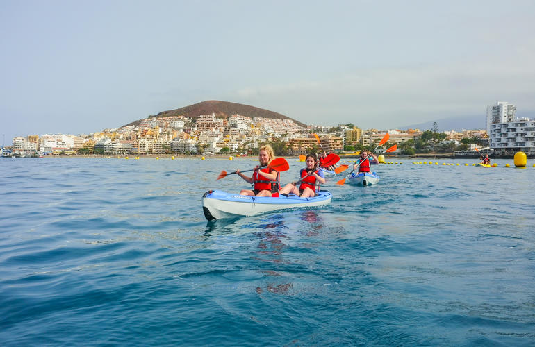 Kayaking in Los Cristianos, Tenerife