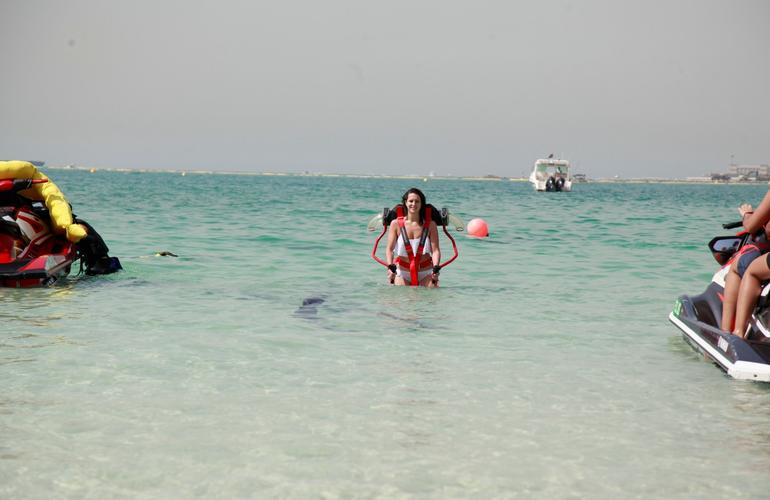 Jetpack Lesson on Jumeirah Beach, Dubai