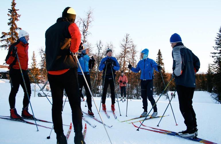 Cross-country skiing beginner courses near Oslo