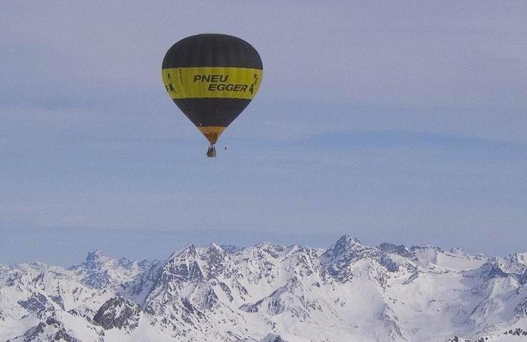 Interlaken Suisse Montgolfière