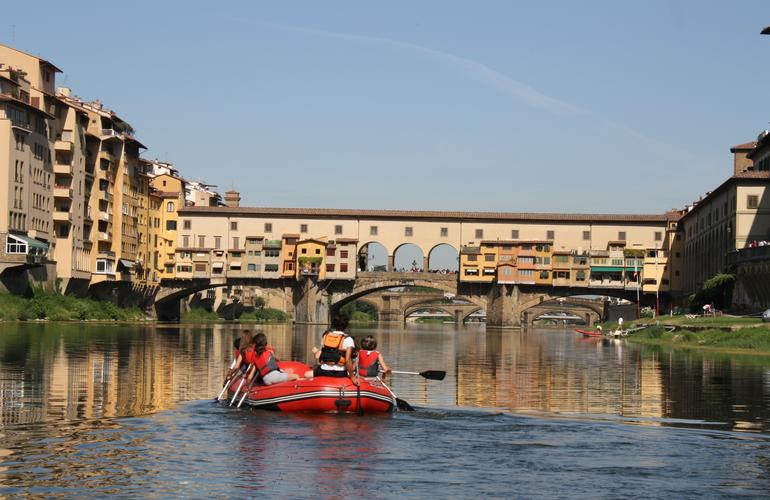 Urban Rafting in the Heart of Florence