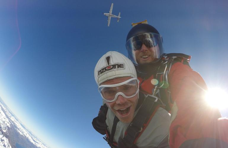 Tandem Skydive Over Queenstown