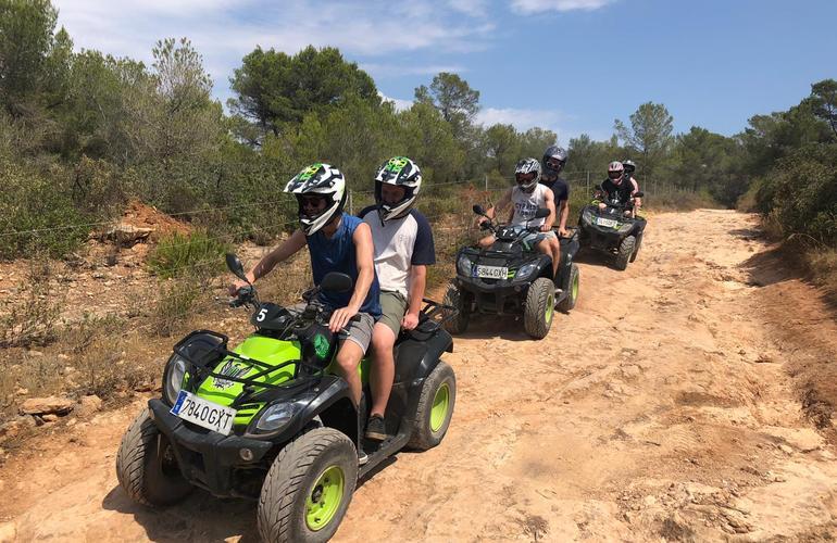 Quad biking excursion & Cliff jumping in El Arenal near Palma