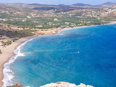 Windsurf Lessons in Eastern Crete