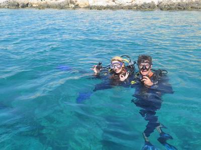 Discover scuba diving in Amorgos