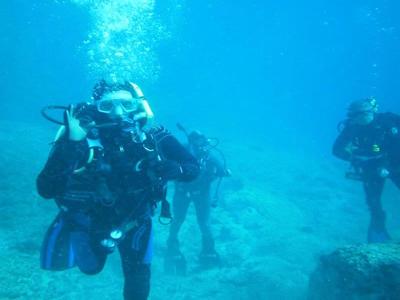 Scuba diving PADI courses in Western Crete