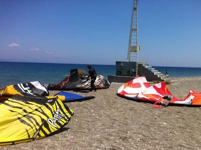 Kitesurfing: Kitesurfing Gear Rentals in Kos Island