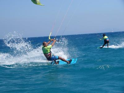 Beginner and Intermediate Kitesurfing Lessons in Kos
