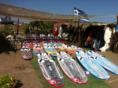 Windsurfing gear rental in Kos Island