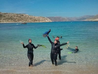PADI Advanced Open Water diving course in Amorgos