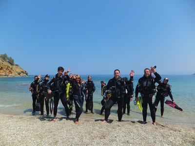 Discover scuba diving near Heraklion Crete