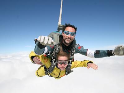Tandem skydive from 4000m in Spa, Belgium