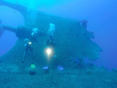 Scuba Diving: Scuba diving PADI courses in Southern Crete