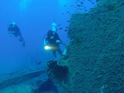 Scuba diving PADI courses in Southern Crete