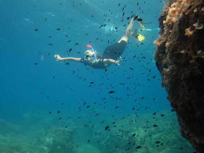 Sea kayaking and snorkeling excursion in Corfu