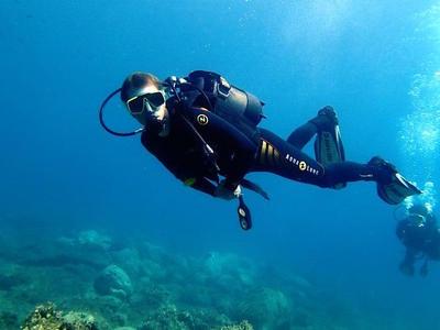 Adventure dives in Halkidiki