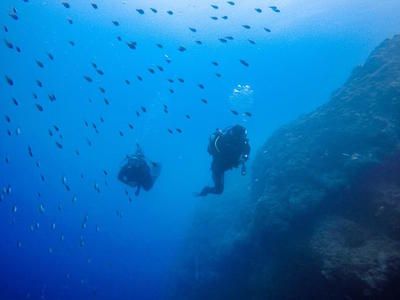 Scuba diving PADI courses in Lefkada