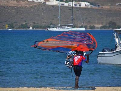 Windsurfing gear rental in Samos Island