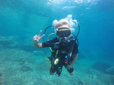 Discover Scuba Diving in Alonissos