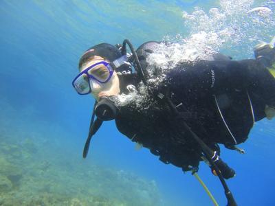 Scuba diving PADI courses in Paxos Island