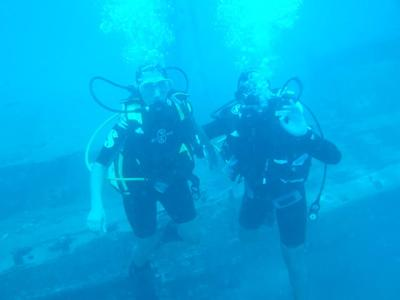 Discover scuba diving in Corfu