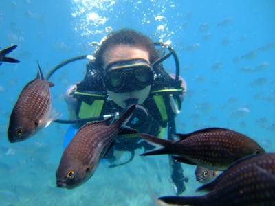 Scuba Diving: Discover scuba diving in Corfu