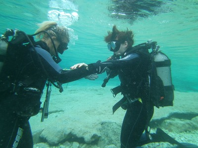 Discover Scuba Diving in Zante