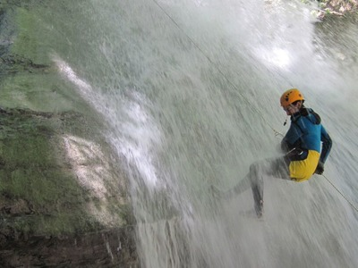 Canyoning: Canyon of Orlia in Mount Olympus, Greece