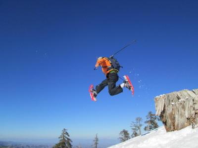 Snowshoeing excursion in Vasilitsa, Greece