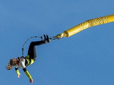 Highest Bungee Jump Spain (70m) near Barcelona