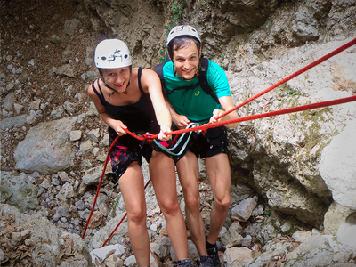Canyoning: Zoodochou Pigi's Canyon in Kefalonia