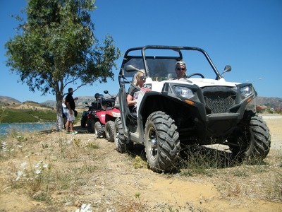 Quad/buggy excursion from Rethymnon, Crete