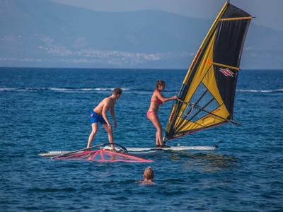 Windsurfing lessons and courses in Kos, Greece